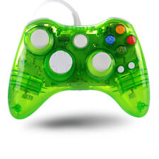 Wired USB Controller Gamepad for Microsoft Xbox 360 Windows PC with LED Light
