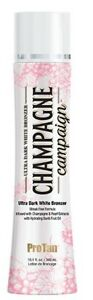 Champagne Campaign White Bronzer Tanning Lotion 10.1 oz.