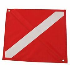 "Scuba Diving Spearfishing Free Dive Flag 12.5"" x 15.25"""