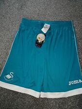 Swansea City Football Shorts Goalkeeper Green  Size XL