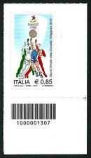 Italia Repubblica 2010 - Giochi Olimpici -  con codice a barre