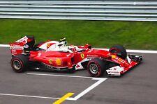 Ferrari F1 Formula One Automotive Car Wall Art Giclee Canvas Print Photo (211)