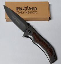 Couteau Pliant, Couteau Multifonction, Couteau de  Poche marque FOX
