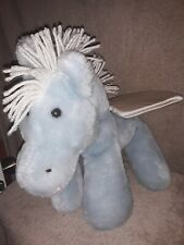 Vintage Animal Fair Plush Blue Pegasus
