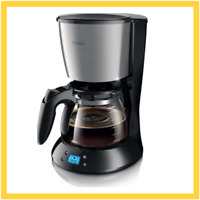 Philips Daily Collection HD7459/20 freestanding Drip coffee maker 1.2L Black,Sta