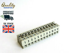 PCB edge connector LPST 1 / 12 5mm PITCH Wieland 25.000.1256.0