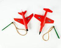 Hausser ohne Originalverpackung, rot ESF-03161 Ersatz-Spielfigur Flugzeug