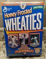 All Star Players Honey Frosted Wheaties SEALED Box Jones Griffey Jr. Bonds EC