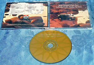 JEEP GRAND CHEROKEE INFINITY GOLD AUDIO SYSTEM DEMO SAMPLER CD DISC 1993 RARE