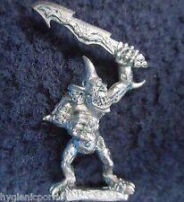 1994 caos plaguebearer 4 demonio menor de Nurgle Citadel Warhammer army Demonio