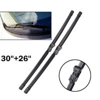 "30"" 26"" Front Window Windscreen Wiper Blades Fit For Ford Galaxy S-max C4 DS4"