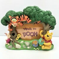 "Winnie the Pooh With Piglet & Tigger 3D Collectable Picture Frame 3.5"" x 5"""