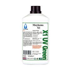 Mayhems X1 pre misto di acqua di raffreddamento del liquido di raffreddamento UV VERDE LIQUIDO 1 LITRO