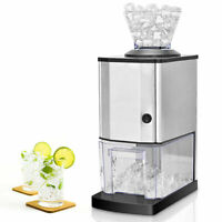 Electric Stainless Steel Ice Crusher Shaver Shaved Machine Professional Tabletop