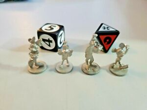 """Scene It? """"DISNEY"""" Edition Replacement Tokens & Dice Game Pieces"""