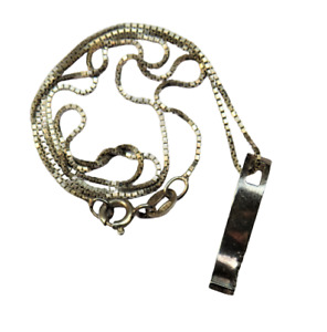 Sterling Silver Ladies Necklace & Pendant