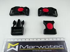 5X 25mm Steckschnalle GurtschnalleStecksch liesser Steckverschluss Gurtband B7C9