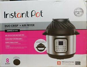 Instant Pot Duo Crisp + Air Fryer-8 Quart-11-n-1