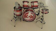 RGM300 Phil  Rudd ACDC Red Miniature Drum kit