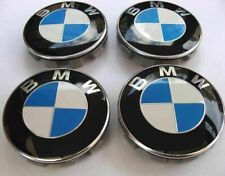 Set of 4 BMW Wheel Centre Caps Fits Most 1 3 5 7 Series  68mm