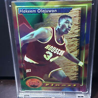🔥1993-94 Topps Finest HAKEEM OLAJUWON  #76 HOUSTON ROCKETS HOF