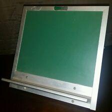 "RARE! Vintage SALESMANS SAMPLE New York Slate Co Chalkboard (1' x 12 1/4"")Unique"