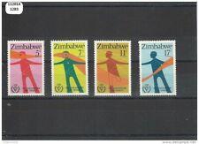 112014/1283 - ZIMBABWE 1981 - YT N° 25/28 ** (MNH) LUXE