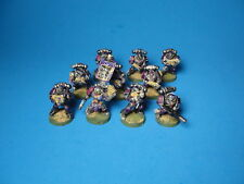 GW Warhammer 40K Space Marine Tactical Squad Painted Plastic ma