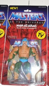 Man at Arms Neo Vintage Collection WAVE 2 SUPER 7 MOTU Masters of the Universe
