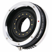 Adapter for Canon EOS Lens to Olympus Panasonic MFT M43 Camera Build-in Aperture
