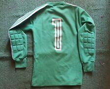 MAGLIA PORTIERE CALCIO adidas football SHIRT goalkeeper vintage 80 trikot jersey