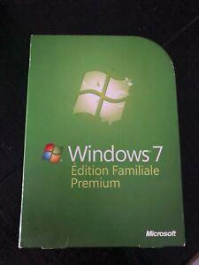 Windows 7 Familiale premium 32 - 64 bit Editions Tout inclues (FRENCH)