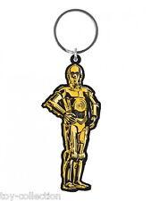 C-3PO Droid- Star Wars - Gummi Schlüsselanhänger / rubber keychain