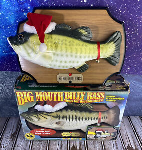 Big Mouth Billy Bass Gemmy 1999 Christmas Holiday Tested Motion Activated Sings