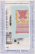 "60-496 southern Pacific/Santa Fe "" Pre Merger"" Paint Scheme"