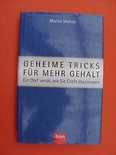 Martin Wehrle: Geheime Tricks für mehr Gehalt.
