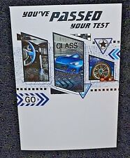 New you've passed your driving test congratulations card