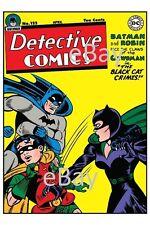 DETECTIVE COMICS 122 COVER PRINT DC Batman Catwoman