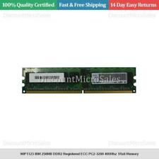 90P1123 IBM 256MB DDR2 Registered ECC PC2-3200 400Mhz 1Rx8 Memory