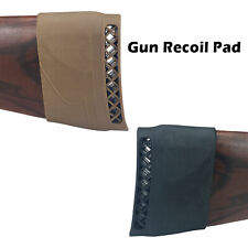 Hunting Rifle Recoil Pad Tactical Rubber Slip-On Buttstock Shooting Extension