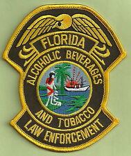 FLORIDA ALCOHOL & TOBACCO ENFORCEMENT POLICE PATCH