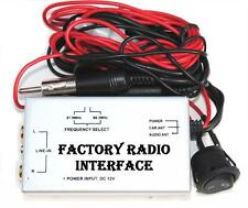 Factory Radio Stereo Audio Input RCA Adapter Wired FM Modulator Auxiliary 3.5mm