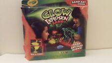 Crayola Glow Explosion Sand - Brand New