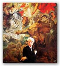 ART PRINT Portrait of Andy Warhol Hans Namuth