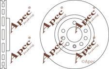FRONT BRAKE DISCS (PAIR) FOR VAUXHALL ZAFIRA GENUINE APEC DSK2507