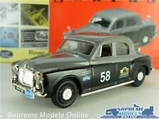 ROVER P4 MODEL CAR 1:43 SCALE VANGUARDS VA01911 RALLY SALOON ROUND THE WORLD K8
