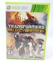 Transformers Fall of Cybertron Microsoft Xbox 360 X360 Game