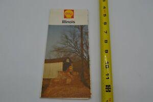 Illinois IL - Shell Map - 1962