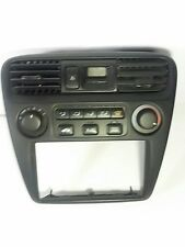 1998 99 00 01 02 Honda Accord AC Heat Climate Control Unit w/ Clock & Bezel OEM