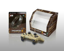 Uncharted 3 Drake's Deception With Origianl Dualshock 3 PS3 HK *NEW*+Warranty!